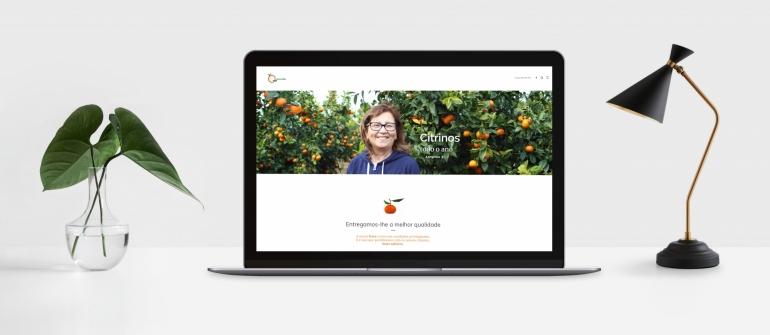 Lançamento do Site Frutas Lurdes